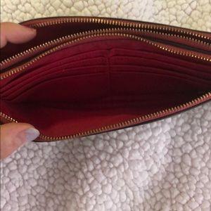Coach Bags - Large Coach double zip wallet/wristlet